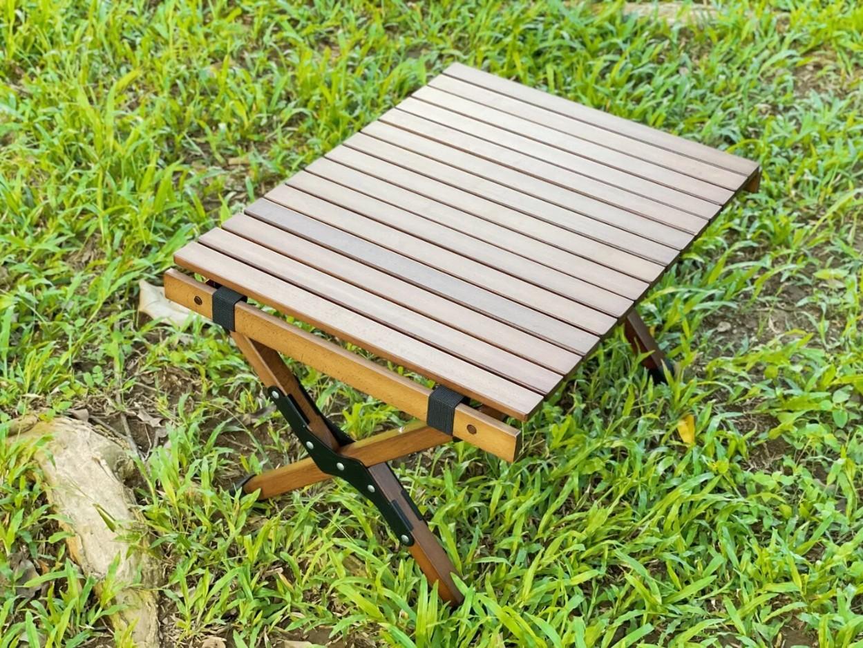 櫸木小蛋捲桌 / LUY-B001