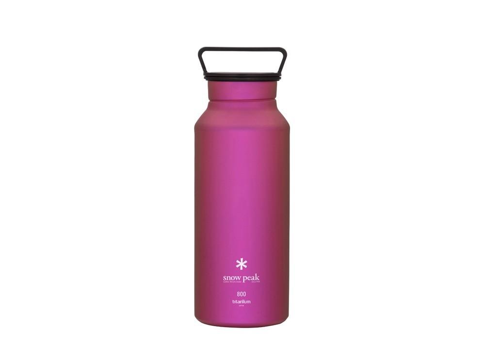 snowpeak 鈦金屬瓶800粉色 / TW-800-PI