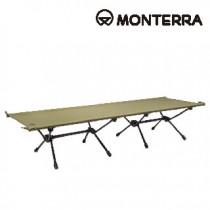 Monterra 兩段式輕量折疊行軍床 CVT2 cot 【橄欖綠色】 / CVT2-cot-OV