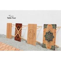 【Truvii】TableFOUR 四折木桌