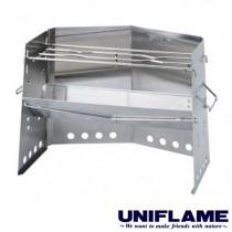 UNIFLAME 不鏽鋼柴爐/U682906