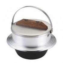 UNIFLAME 羽釜煮飯鍋1.8L 經典日式炊飯鍋 缽型鍋 三合炊 附蓋 / U660218