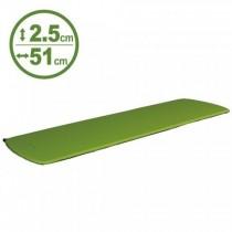 100mountain 183x51x厚2.5cm 登山型充氣睡墊 果綠 550g / BU01038507