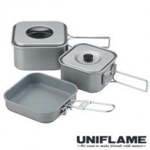 UNIFLAME 四方鍋三件組 / U667705