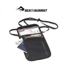 SEA TO SUMMIT 旅行用頸掛式證件袋 (5袋口) 黑/淺灰/STSATLNW5BK
