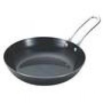 日本UNIFLAME 小黑鍋單入 φ16×3.5cm 鑄鐵煎鍋 平底鍋 煎鍋 / U666357