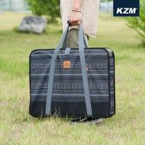 KAZMI KZM 彩繪民族風折疊桌收納袋-L(黑色) / 438858496