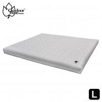 【Outdoorbase】198x256x22cm|頂級睡眠科技|無縫接合強韌支撐 歡樂時光充氣床墊-頂級系列 L / OB-23755