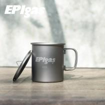 EPIgas 鈦金屬單層杯 (M) 400ml / T-8115