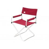 Snow Peak 摺疊椅-寬紅版 / LV-077RD