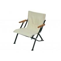 短版休閒椅30 象牙白 /LV-093IV