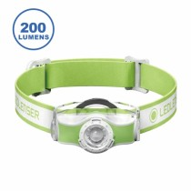 LED LENSER MH3 專業伸縮調焦頭燈  綠色 / BU-501593