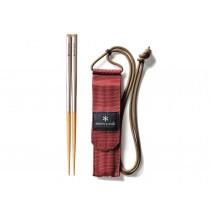 Snow Peak 和武器組合筷-方形M / SCT-110