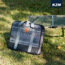 KAZMI KZM 彩繪民族風折疊桌收納袋-S(黑色) / 438858489