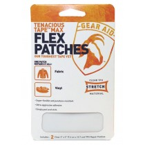 Gear Aid  Flex Patches彈性貼片(透明) 7.6 x 12.7 cm (2片入) / TX-10800