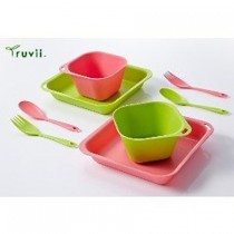 Truvii 抗菌餐具組(加贈收納袋) / TY-920707